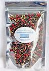 Whole Peppercorns Mixed with 4 types of peppers - 1 to 6 oz. Packages