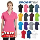 Womens Sport-Tek GOLF POLO Casual Cool Dry Wicking Performance Color Fit LST640