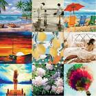 Внешний вид - 40*50cm Frameless Pictures DIY Oil Painting By Numbers Kit Wall Art Canvas Decor
