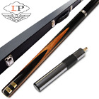 LP Jingang 03 Model Handmade 3/4 Snooker Cue Stick 9.8mm Tip with Black Snooker $353.84 CAD on eBay