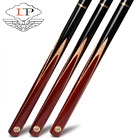 LP SOLO Snooker Cue Stick 9.8mm Tips 3 4 Snooker Cues Case Set