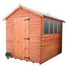 Shedrite top quality 9mm overlap  wood garden sheds  free delivery