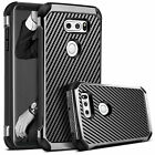 BENTOBEN For LG V30 Luxury Hybrid Hard Cover Slim Chrome Shockproof Case Bumper
