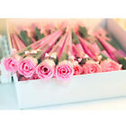 32Pcs  Artificial Soap Flower Rose Bridal Bouquet Bunch Valentine's Day Gifts