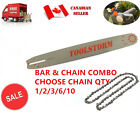 """NEW 16"""" CHAINSAW BAR & CHAIN COMBO 3/8"""" LOW PROFILE 0.050"""" 55DL FOR STIHL"""