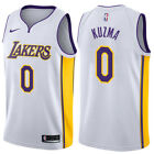 Kyle Kuzma #0 Los Angeles Lakers Men's White Association Home Game Jersey