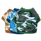 IK- Camouflage Print Pet T-shirt Sweatshirt Coat Costume Small Dog Clothing Rapt