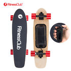 Fitnessclub Electric Skateboard Hub Motor Wireless Remote Maple Deck Longboard