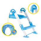 3 in 1 Baby Potty Training Toilet Chair Nonslip Seat Step Ladder Trainer Toddler