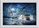 Terry Redlin EVENING_FROST HD Art printed on canvas home decoration painting