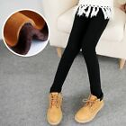 Winter 3-13Y Grils Warm pantsGirl kids leggings Add Velvet skinny pants 5colors