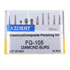 Sale! Dental Diamond Bur Drill Composite / Polishing Kit FG High Speed Handpiece
