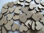 A023  50 x Wooden MDF Hearts, Family Trees, Crafts, Embellishments, Scrapbooking