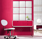 Wall Sticker 3D Acrylic Silver Decal Exclusive Mirror