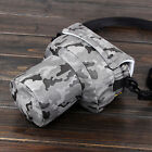 Small DSLR Camera Pouch Padded Shoulder Bag Case For Canon 760D 77D Nikon D5300