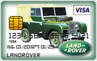 Land Rover Novelty Plastic Credit Card