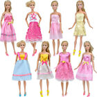 E-TNG Dolls Clothes Wedding Casual Leisure Party Dress Mini Skirt for Barbie