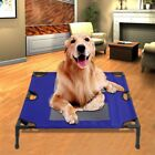 Dog Elevated Bed Extra Large Outdoor Durable Steel Frame Raised Pet Cot Indoor O