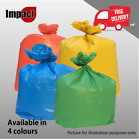 BLUE RED GREEN YELLOW RECYCLING SACKS BIN BAGS REFUSE RUBBISH SELECTIVE WASTE