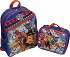 child backpack - Paw Patrol Boys Bookbag Backpack Lunch Box Bag Kids Nickelodeon School Toy