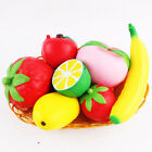UK Squeeze Squishy Lemon Fruit Slow Rising Simulation Stress Stretch Kids Toys