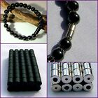 SUPER STRONG BEST A++ Magnetic Clasps Silver, Gun Metal, Black Hematite Beads