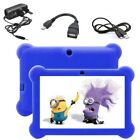 7'' INCH KIDS ANDROID 4.4 TABLET PC QUAD CORE WIFI Camera CHILD CHILDREN GIFT UK