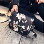 Bag Handbag Crossbody Lady Pocket Leather Butterfly Printing Shoulder Gifts euw