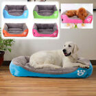 Large Pet Bed Cushion Pad Dog Cat Cage Kennel Crate Warm Cozy Soft House Mat
