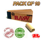 RAW Rolling Paper Smoking Chlorine Free Genuine Roach Roaches Book Filter Tips <br/> Classic Tips✔UK Seller✔