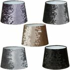 """Luxe Crushed Velvet Effect Dual Purpose Lampshade Lightshade Shade 11"""""""