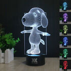 Star Wars Dragon Ball Z 3D LED Night Light Touch Table Desk Lamp Gift 7 Color