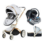 Hot Mom Baby Stroller 3 in 1 high view travel system Bassinet proable Pushchair