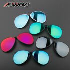 Car Driving Sunglasses Polarized Clip-on Flip up Mirrored Lenses Coated Glasses