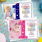 10 Personalised Girls Boys 1st First Birthday Party Invitations Invites N17/18