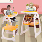 Baby High Chair 3 in 1 Convertible Play Table Seat Booster Toddler Feeding Tray <br/> Free Fast Shipping√Best Price√Highest Quality√US Stock√