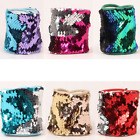 1pcs Popular Glitter Sparkly Mermaid-Sequin Wristband Color Change Magic Bangle