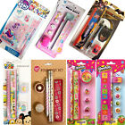 MY LITTLE PONY GIRLS STATIONERY SET PENCIL RULER ERASER NOTEBOOK SHARPENER