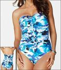MIRACLESUIT BANDEAU MIRACLE SWIM SUIT 10-16 SWIMMERS BATHERS SWIMMING COSTUME