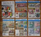 McCall Simplicity PILLOWS Sewing Patterns  NEW! UNCUT! You Pick! $3 Ea.