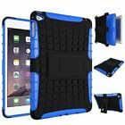 Dual Layer Case Cover plus screen protector for Apple Ipad 234 Air/2 & mini 1234