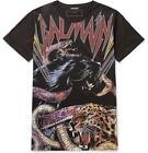 BALMAIN MEN RUNWAY ANIMAL TIGER PRINT T-SHIRT W7H8601I060