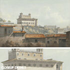 """50W""""x32H"""" THE VILLA MEDICI by JOHN WARWICK SMITH - ROME CHOICES of CANVAS"""