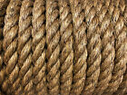 Manila Rope Various Sizes From 8mm To 24mm Natural Fibres For Fenders/Decking