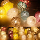 1.8M 10 LEDs Colorful Easter Egg String Lights Lamp Xmas Birthday Party Decor