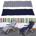 SUN LOUNGER LUXURY PADDED CUSHIONED RELAXER OUTDOOR GARDEN CHAIR CUSHIONED MAT