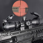 3 - 9 x 32 AO 1inch Tube Mil-dot Compact Rifle Scope With Sun Shade & QD Rings