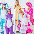 Unicorn Unisex Adult Pajamas Kigurumi Cosplay Costume Animal Onesie2 Sleepwear