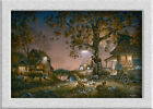 Terry Redlin TWILIGHT_TIME HD Art printed on canvas home decoration painting
