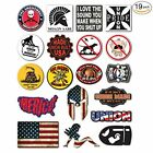 Tool Chest 19 Pack Union Hard Hat Lunch Box Stickers Vinyl Electrician Oilfield
